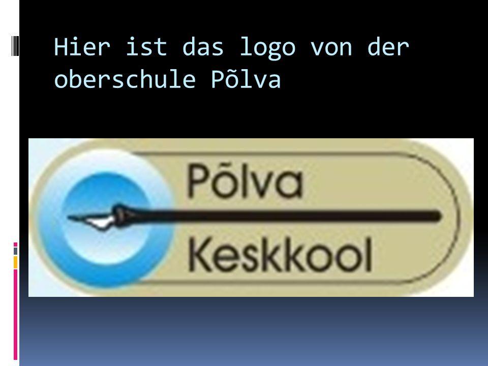 Hier ist das logo von der oberschule Põlva