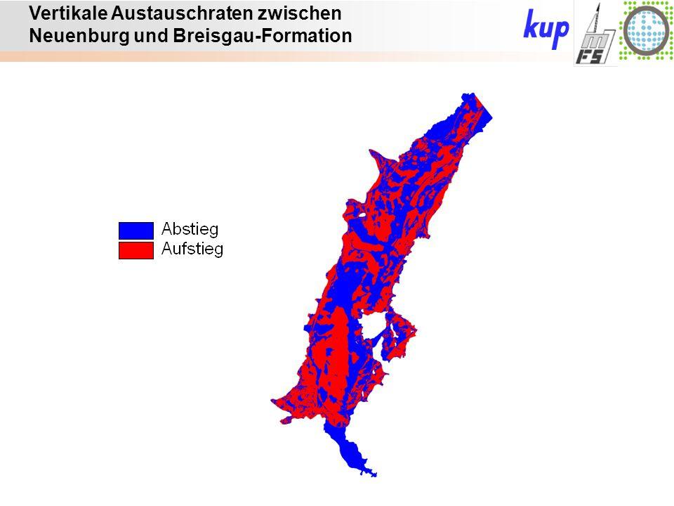 Untersuchungsgebiet: Vertikale Austauschraten zwischen Neuenburg und Breisgau-Formation