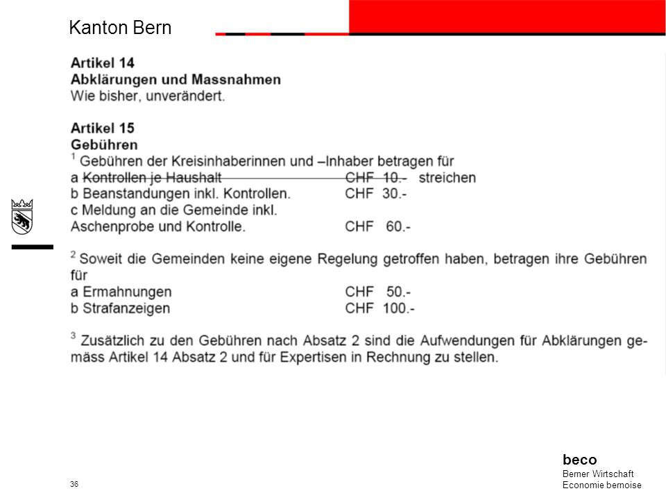 Kanton Bern beco Berner Wirtschaft Economie bernoise 36
