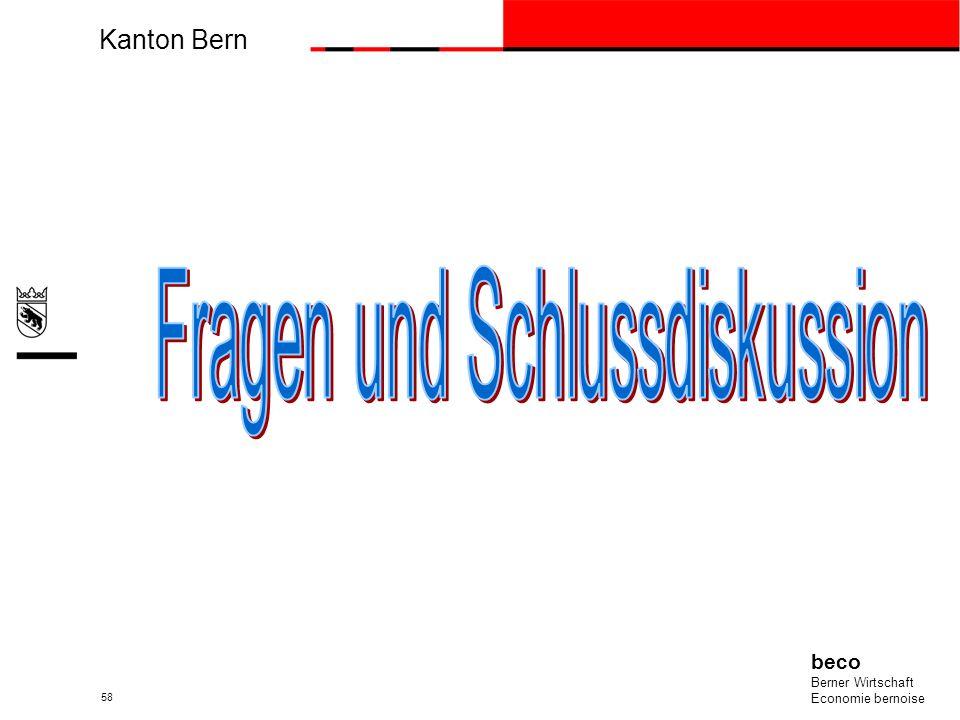 Kanton Bern beco Berner Wirtschaft Economie bernoise 58