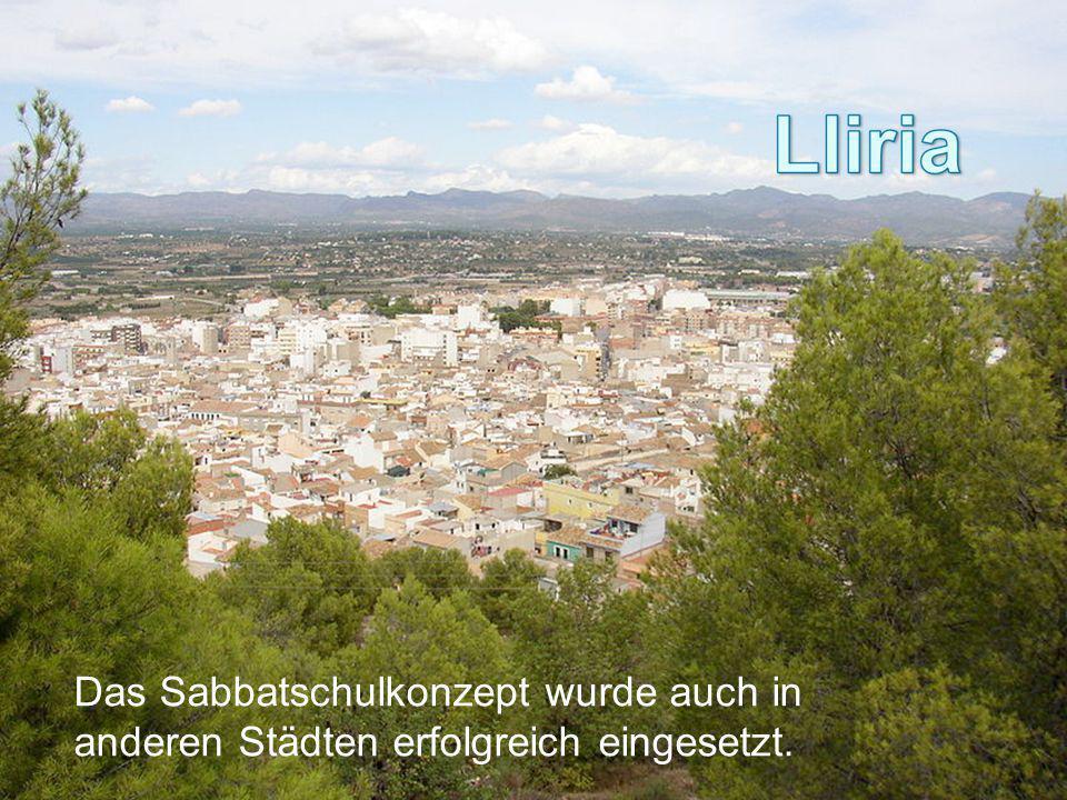 Das Sabbatschulkonzept wurde auch in anderen Städten erfolgreich eingesetzt.