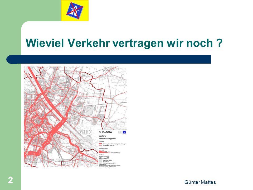 Günter Mattes 2 Wieviel Verkehr vertragen wir noch ?