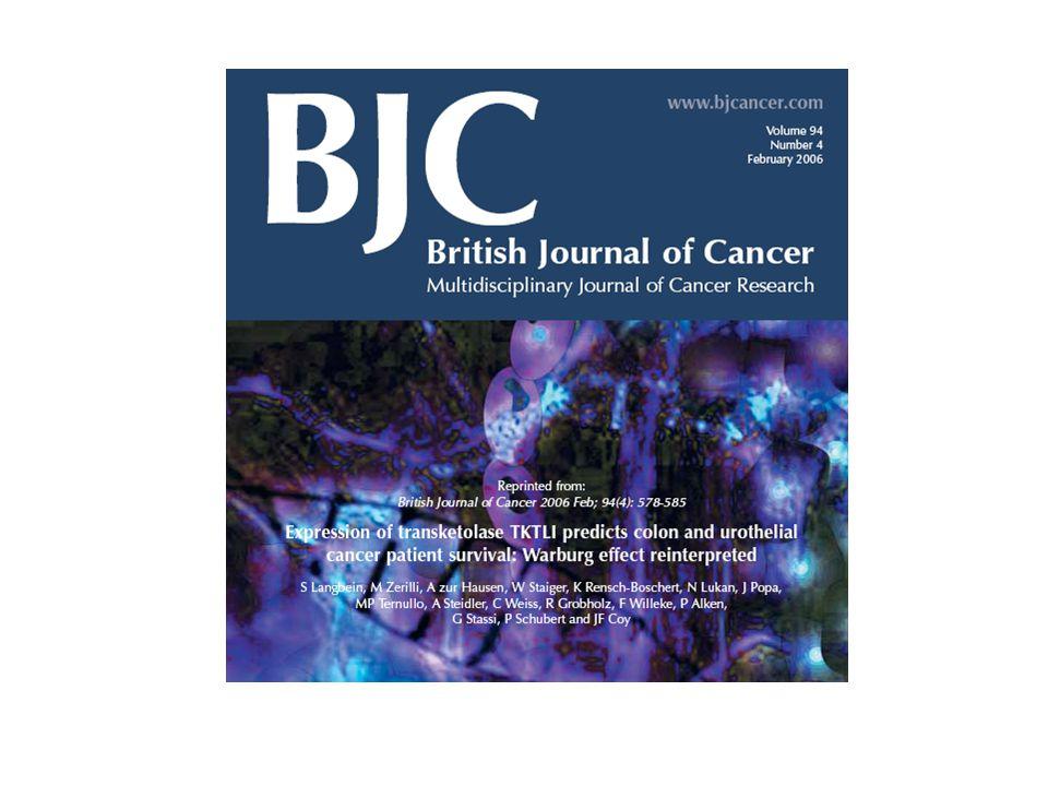 Magenkarzinome N1 T1 N2 T2 N3 T3 N4 T4 N5 T5 Lungenadenokarzinome N1 T1 N2 T2 N3 T3 N4 T4 N5 T5 Tumor spezifische Überexpression des Transketolase-lik