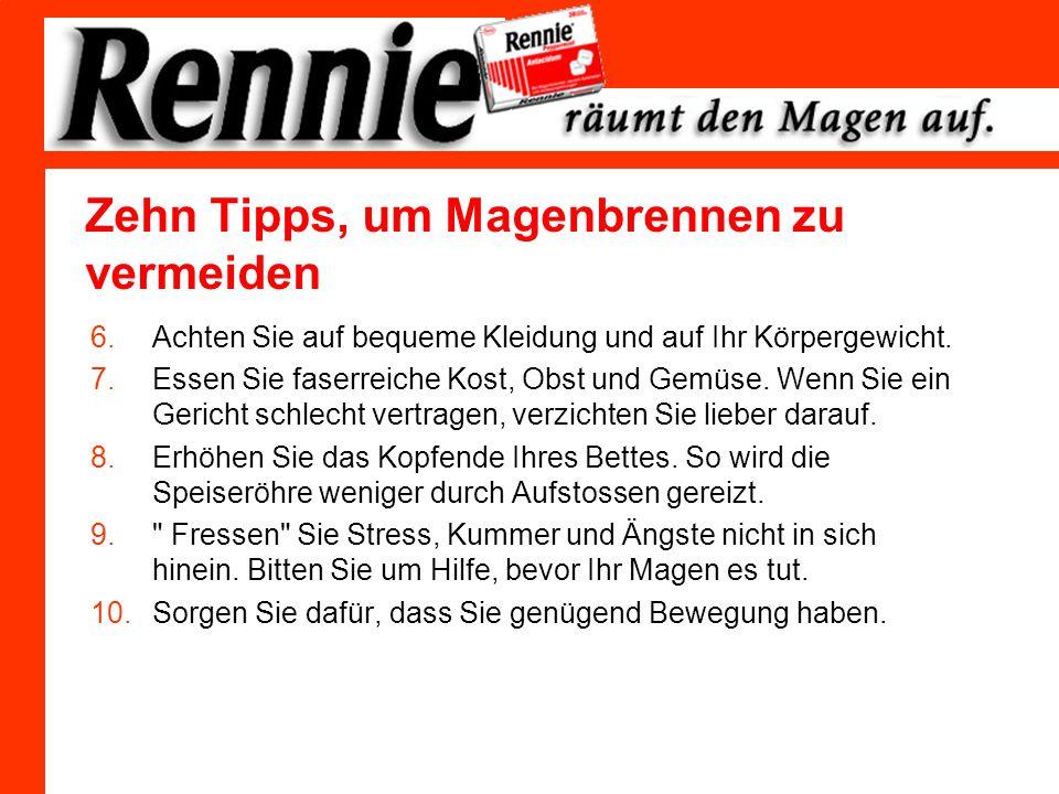 Rennie eine Erfolgsgeschichte.