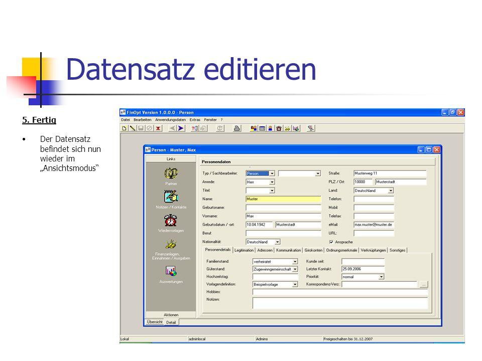 Frank Huber The SoftwareFactory Alberweilerstr.