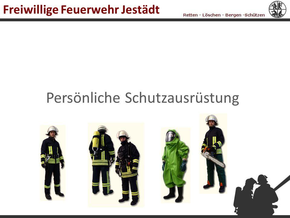 Persönliche Schutzausrüstung Freiwillige Feuerwehr Jestädt