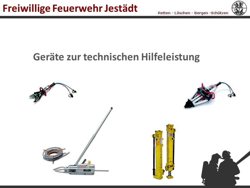 Geräte zur technischen Hilfeleistung Freiwillige Feuerwehr Jestädt