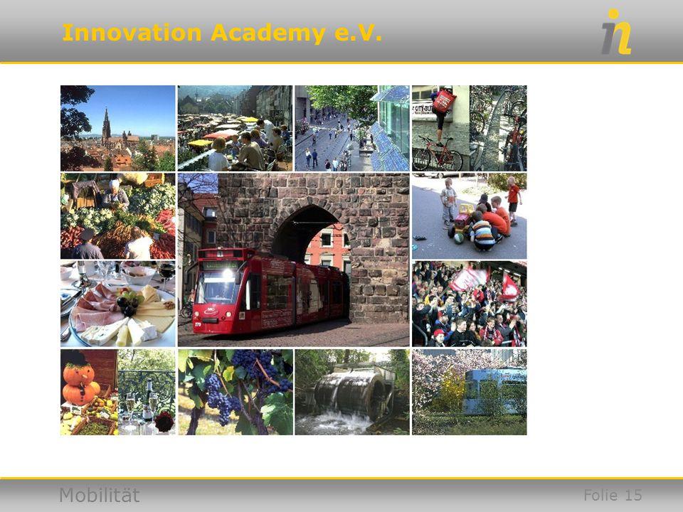 Innovation Academy e.V. Mobilität Folie 15
