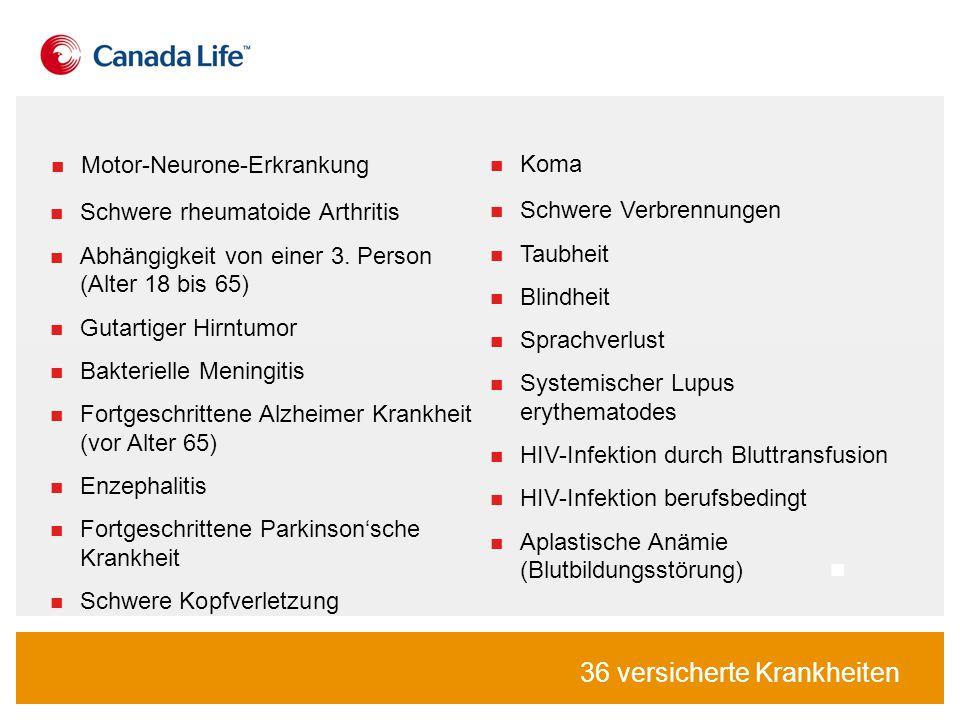 Schwere rheumatoide Arthritis Abhängigkeit von einer 3.