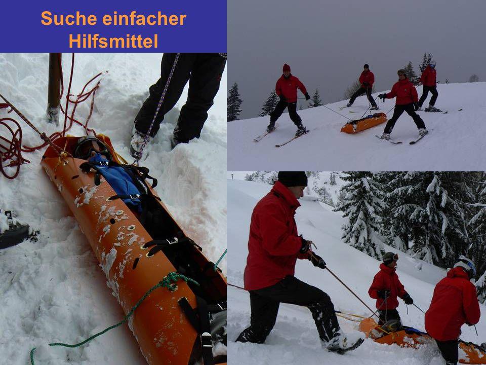 Suche einfacher Hilfsmittel SKED - Trage ? Platz im Bergesack