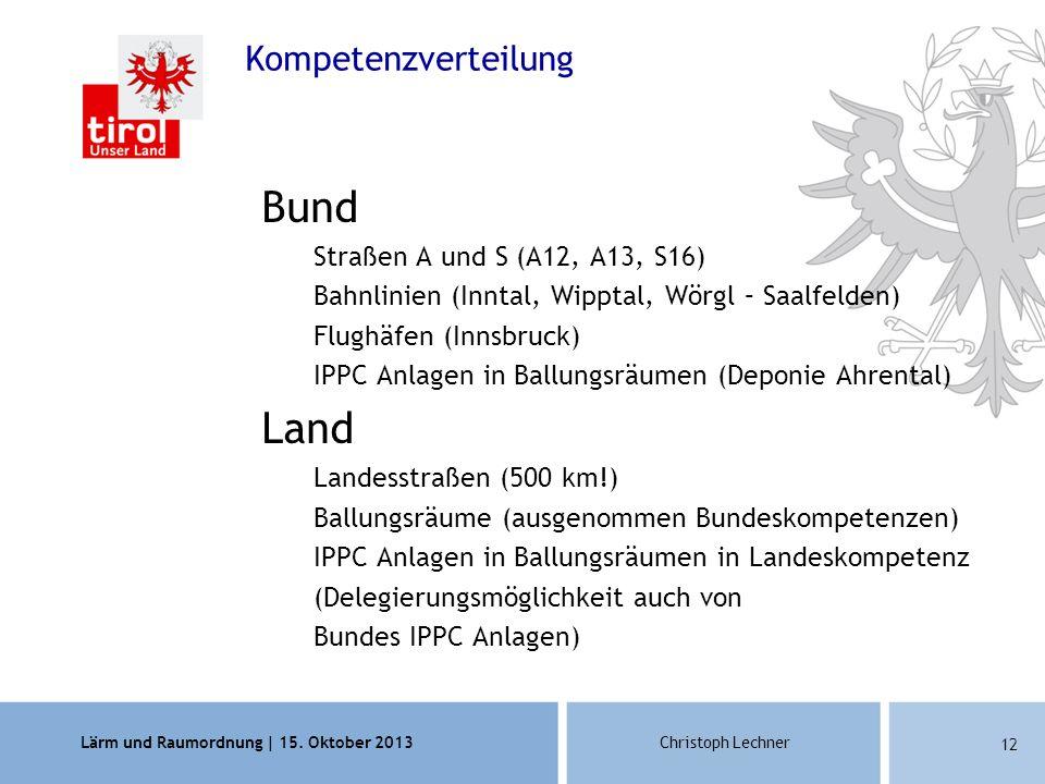 Lärm und Raumordnung | 15.