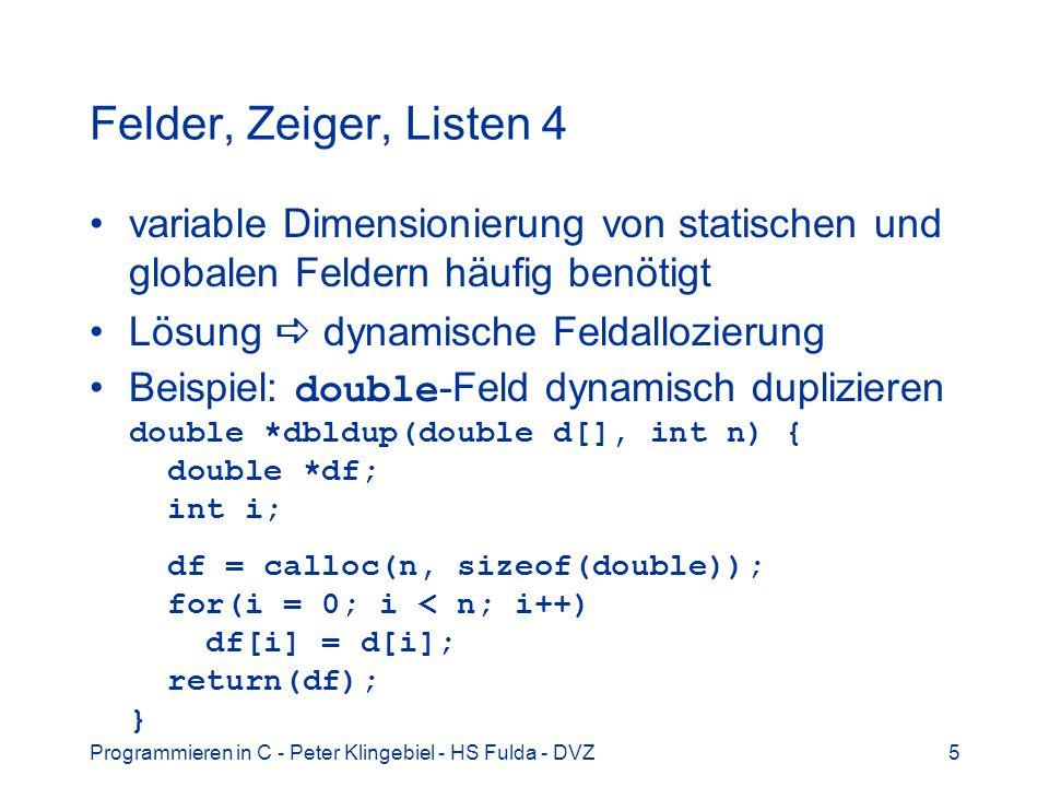 Programmieren in C - Peter Klingebiel - HS Fulda - DVZ36 Mathematische Funktionen 15 simpson.c