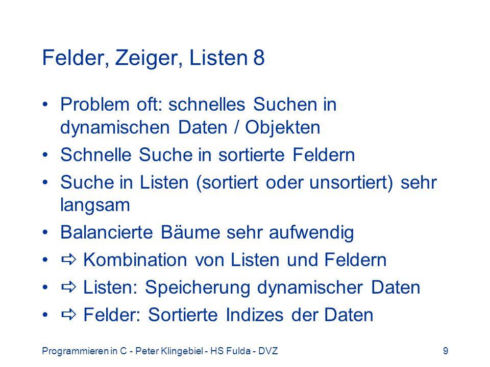 Programmieren in C - Peter Klingebiel - HS Fulda - DVZ30 Mathematische Funktionen 9 Was zeigen Grafik und Fläche?