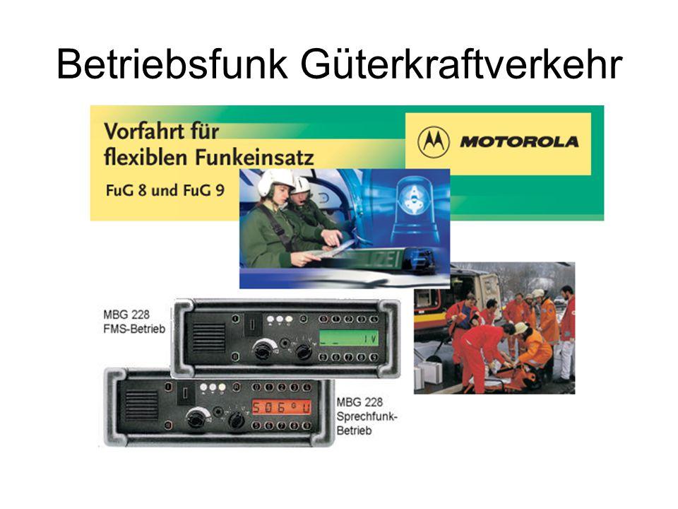 Betriebsfunk Güterkraftverkehr