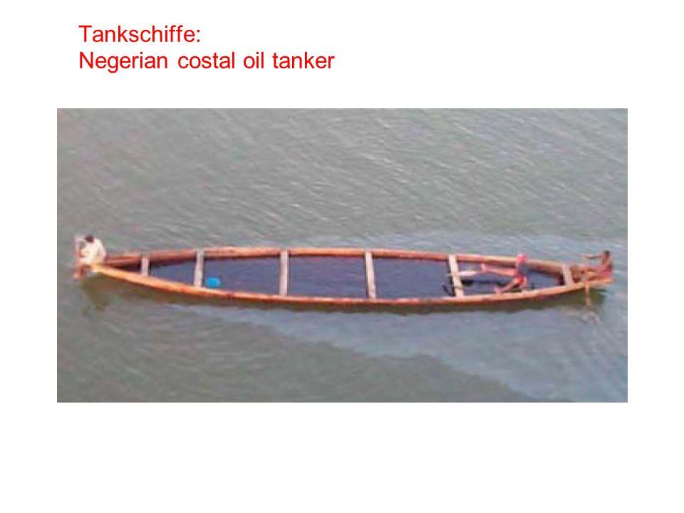 Tankschiffe: Negerian costal oil tanker