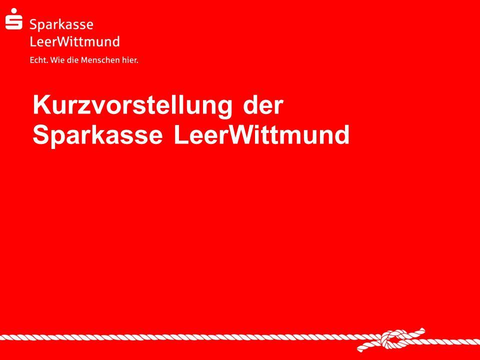 Kurzvorstellung der Sparkasse LeerWittmund