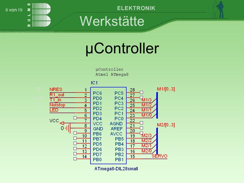 Werkstätte 8 von 7 8 von 19 µController