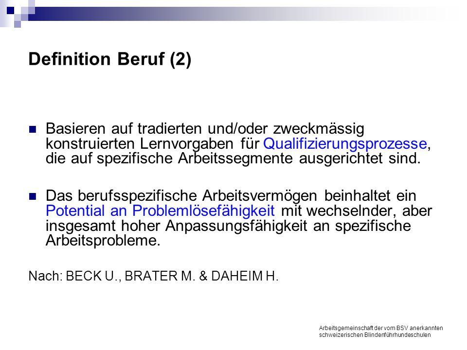 Fünf Stufen zur Meisterschaft Arbeitsgemeinschaft der vom BSV anerkannten schweizerischen Blindenführhundeschulen Anfänger/- innen (Novice) Fortge- schrittene Anfänger/- innen Hinreichend zuständig, fachkundig Erfahren, geübt Erfahren, meisterhaft Wird selbst Teil der Situation.