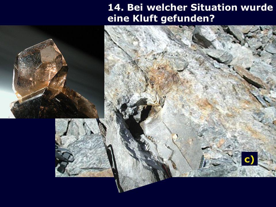 13.Welches ist kein Mineral.
