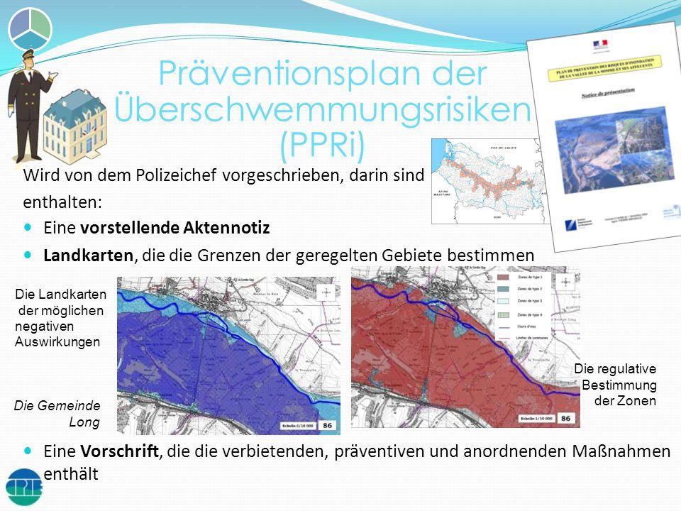 Wird von dem Polizeichef vorgeschrieben, darin sind enthalten: Eine vorstellende Aktennotiz Landkarten, die die Grenzen der geregelten Gebiete bestimm