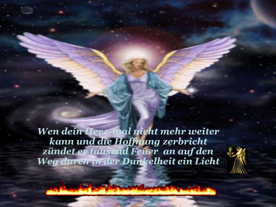 Er hört dich und dein Gebet der Engel an deiner Seite ist ein Begleiter auf jedem Weg