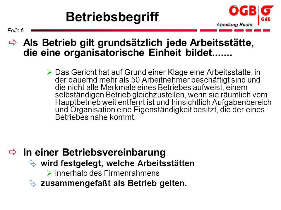 Folie 57 Abteilung Recht Kalendarium Wahltage 1.2.