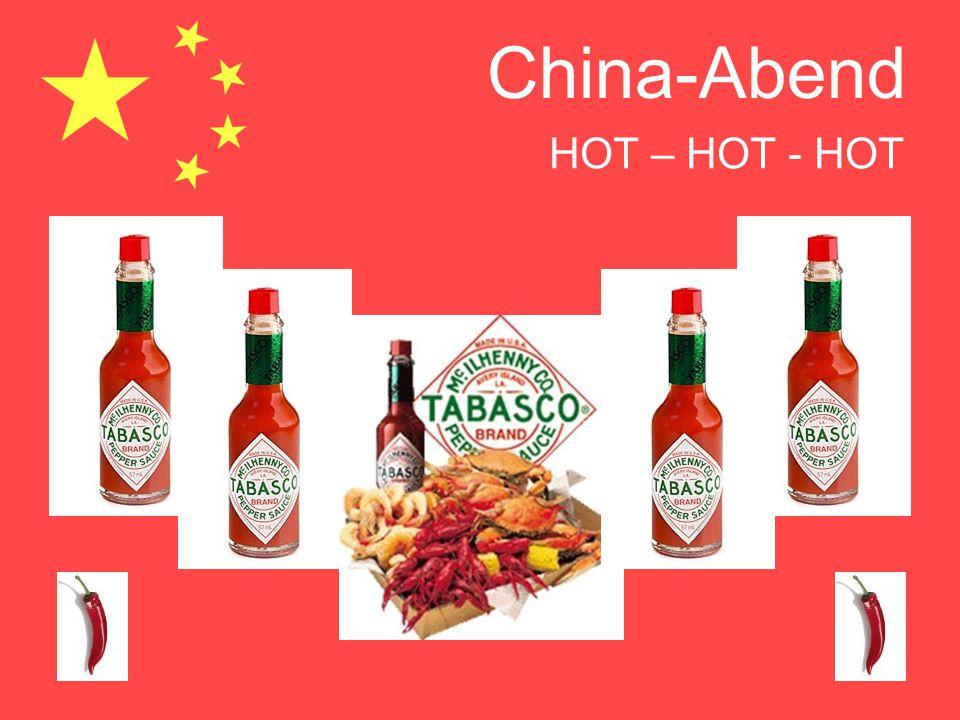 China-Abend HOT – HOT - HOT