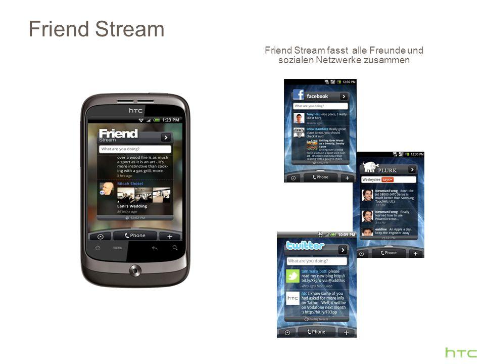 Friend Stream fasst alle Freunde und sozialen Netzwerke zusammen Friend Stream