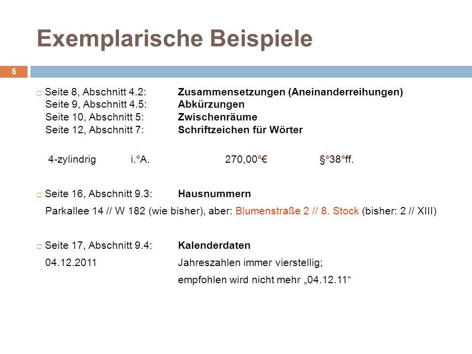 Exemplarische Beispiele Geschäftsbrief – Form B mit Bezugszeichenzeile 16 Seitenränder: links: 25 mm, rechts: 20 mm – Ausnahmen: Anschriftfeld (links: 20 mm), Bezugszeichenzeile (rechts: 10 mm) Global Player GmbH, Georg-Winkler-Allee 66, 38104 Braunschweig gedachte obere Begrenzungslinie bei 50,8 mm 3 2 1 1 Frau 2 Marlene Mustermann 3 Reichenberger Str.