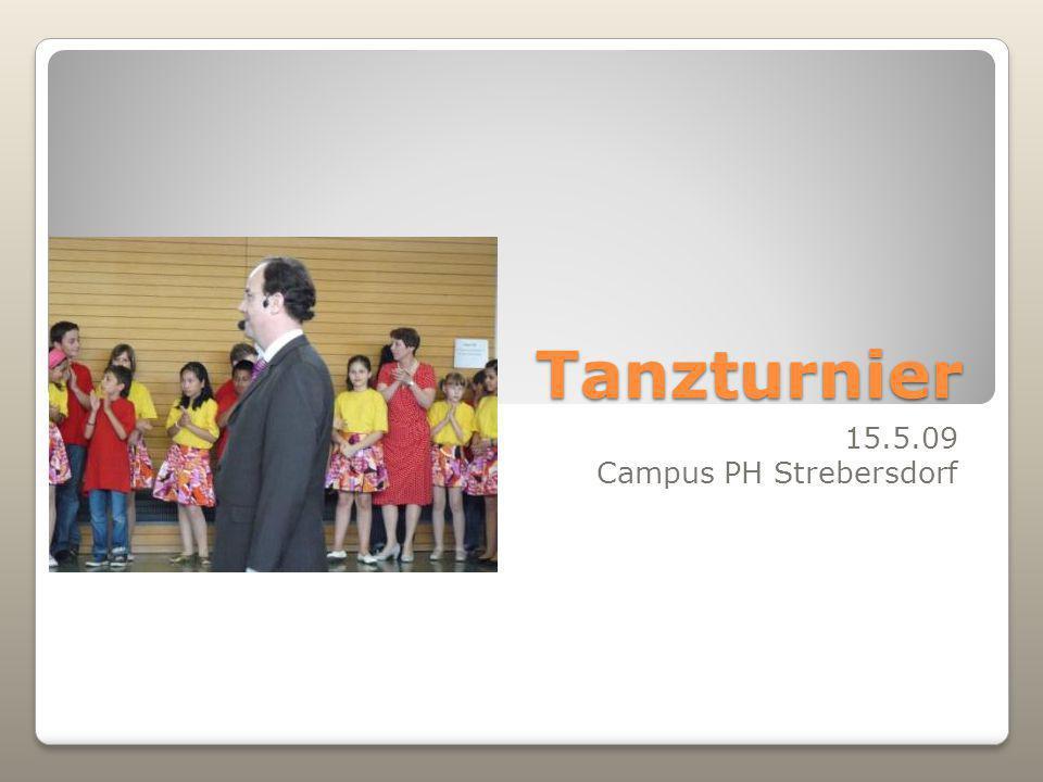 Dancing Stars für Kinder Johannes Biba initiiert wieder Tanzturnier für Kinder am Campus Wien-Strebersdorf 15.