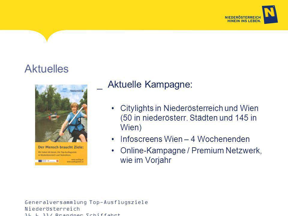Aktuelles _Aktuelle Kampagne: Citylights in Niederösterreich und Wien (50 in niederösterr.