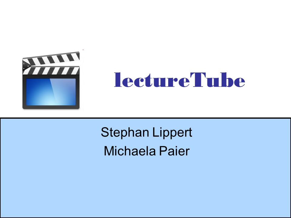 Lippert, Paier 2 Agenda Produktauswahl Screencasts –Frontend: Suchfunktion –Frontend: Upload –Frontend: Bewertung –Backend: Administration Lessons learned