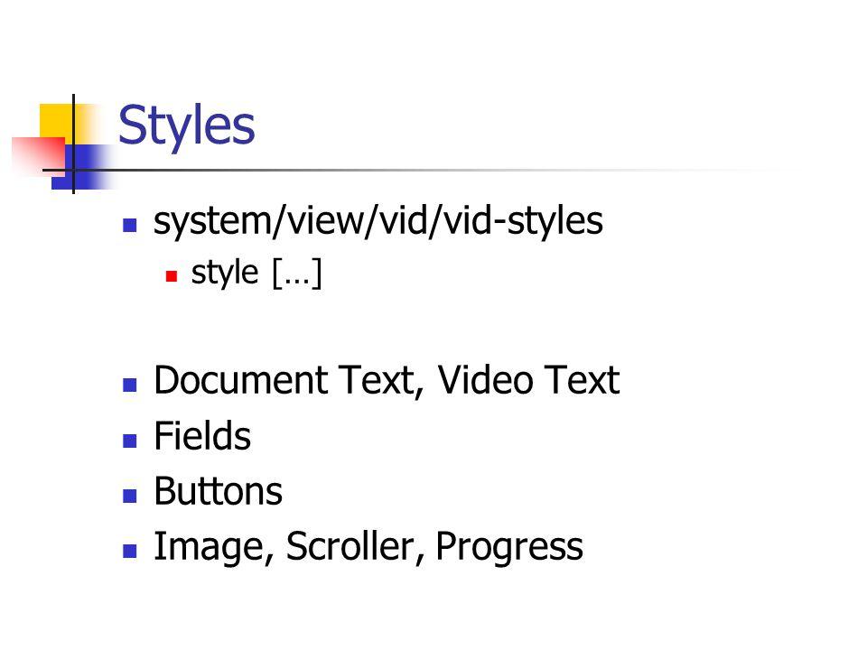 Attribute color text, font offset, size image effect …