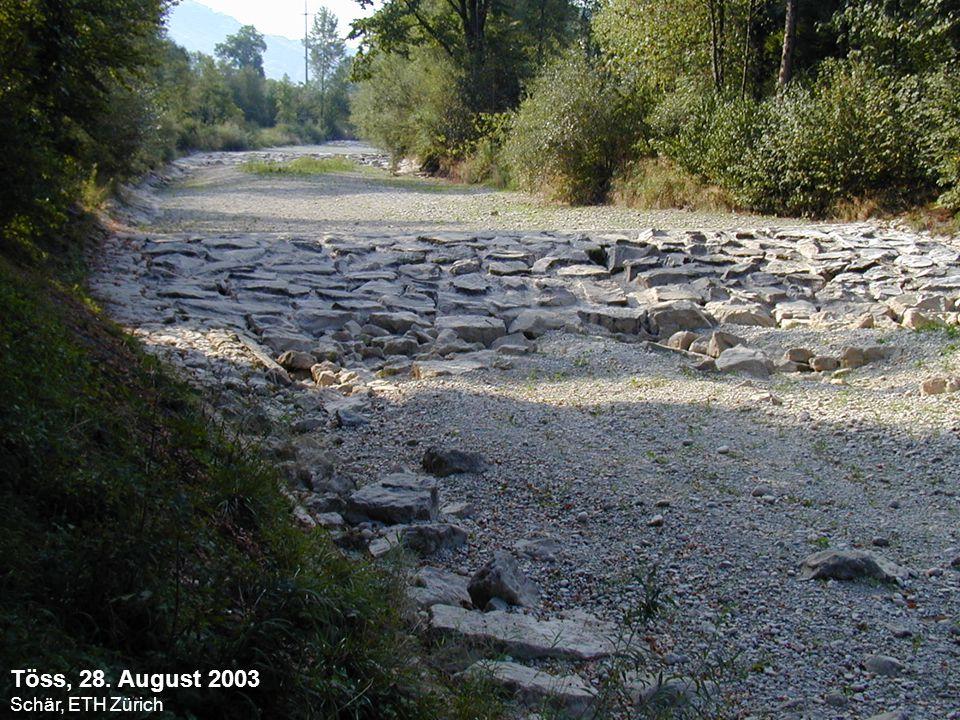 MeteoSchweiz Sommer Temperaturen 1864- 2003 Sommer 2003 22.3ºC