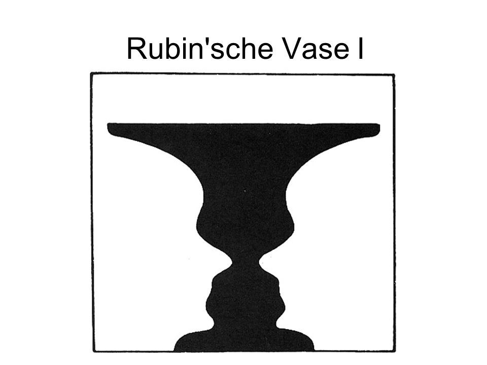 Rubin'sche Vase I