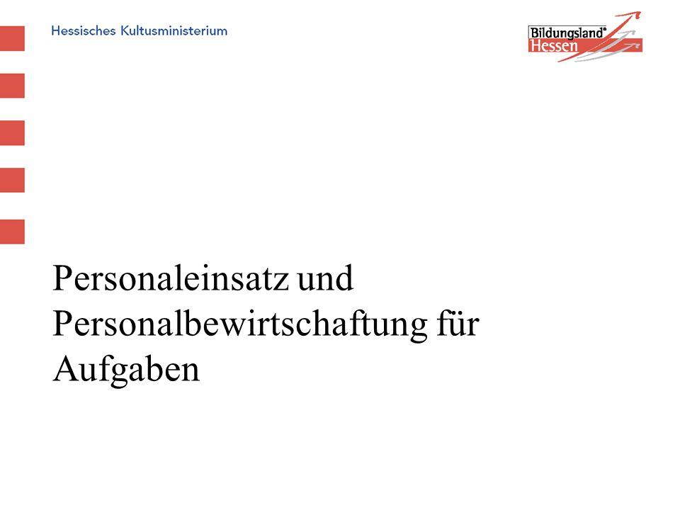 Kreher/Kneisch - Entwurf Stand 12.07.2007 - Personaleinsatz und Personalbewirtschaftung für Aufgaben