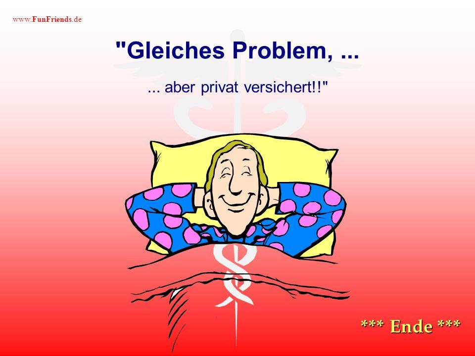 www.FunFriends.de Kurze Zeit später sieht er in einem anderen Zimmer, wie eine hübsche Krankenschwester bei einem Patienten auf dem Bett sitzt......