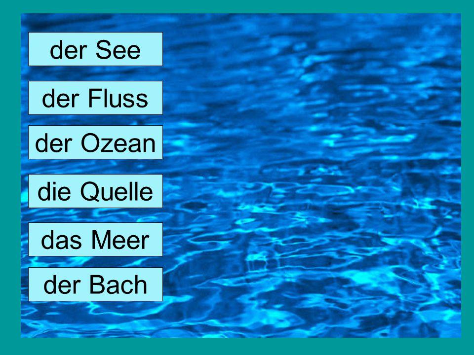Wasser das wichtigste Űberlebens-Rohstoff