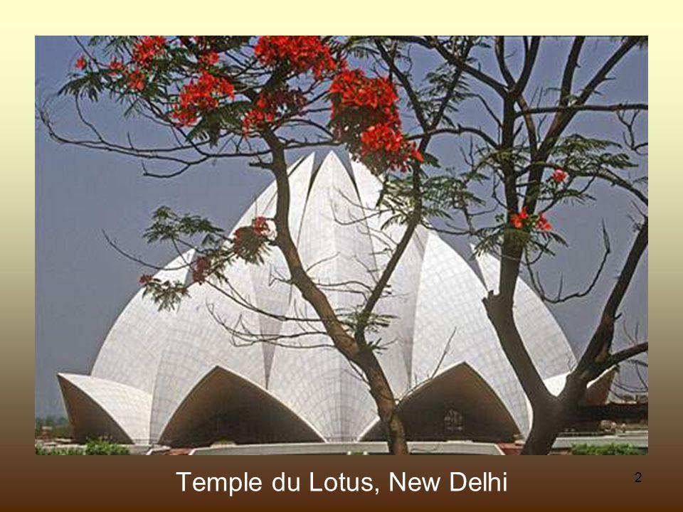 2 Temple du Lotus, New Delhi