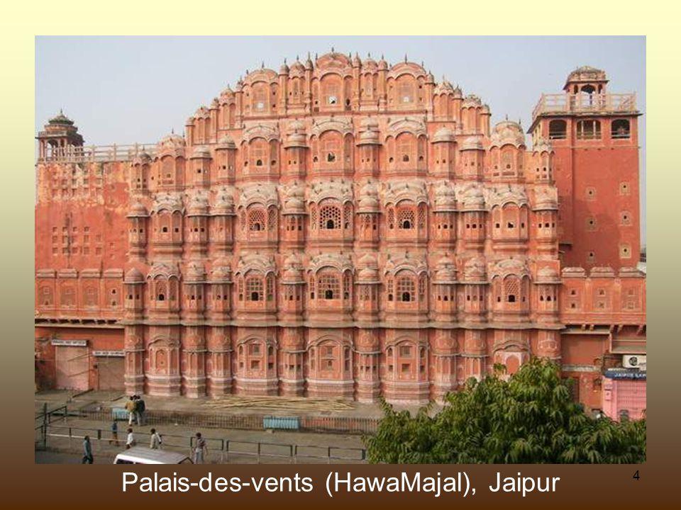 24 Détail dune colonne dans le Taj Mahal, Agra