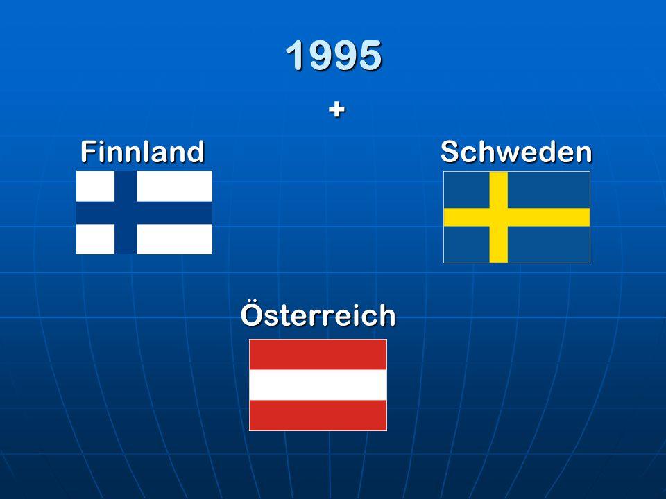 1995 + FinnlandSchweden Österreich