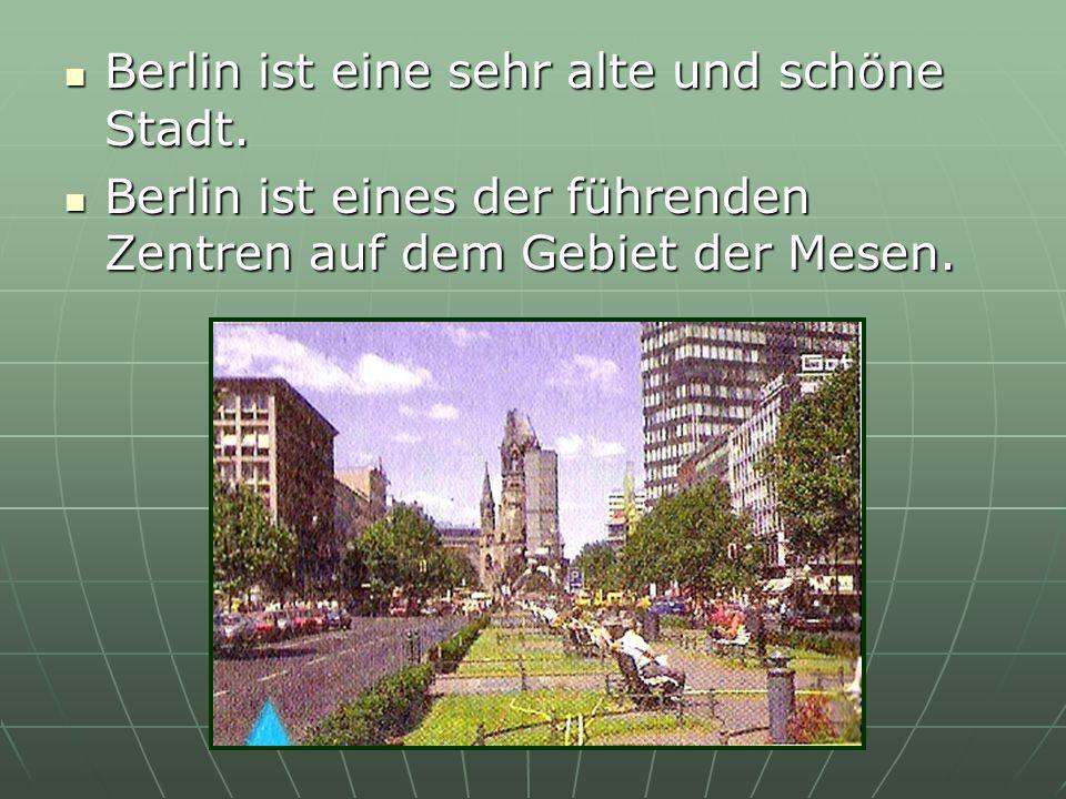 Berlin ist eine sehr alte und schöne Stadt.Berlin ist eine sehr alte und schöne Stadt.