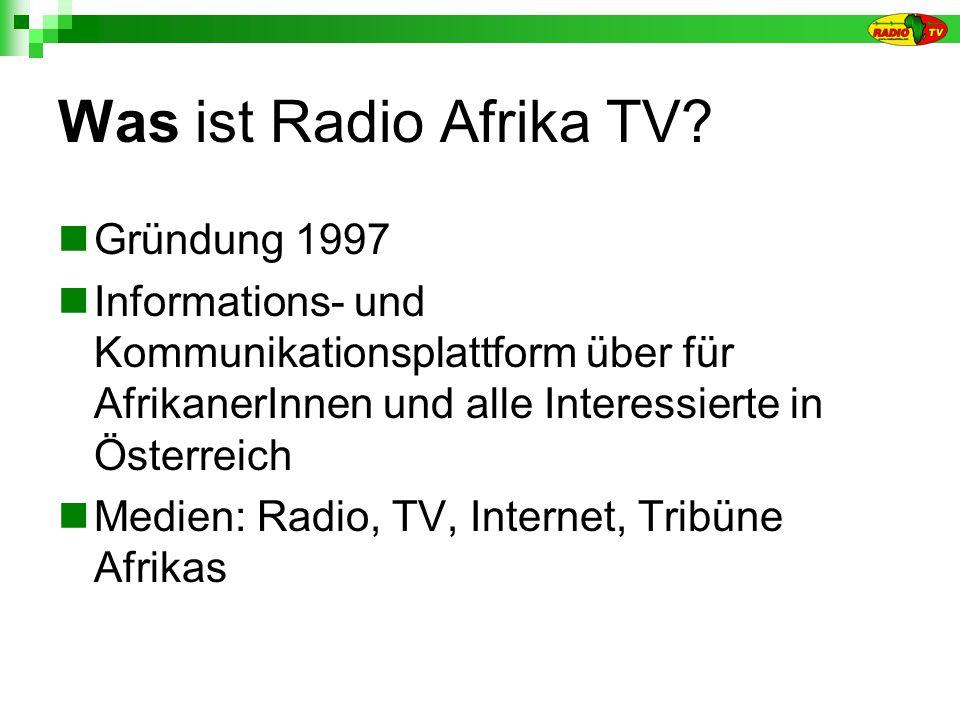 Was ist Radio Afrika TV.
