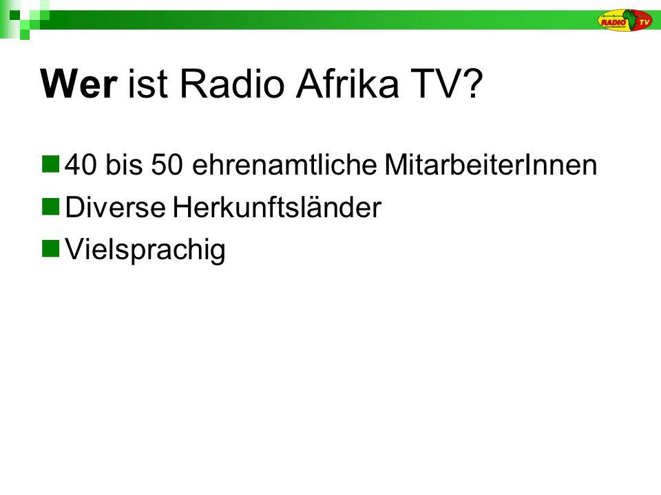 Wer ist Radio Afrika TV.