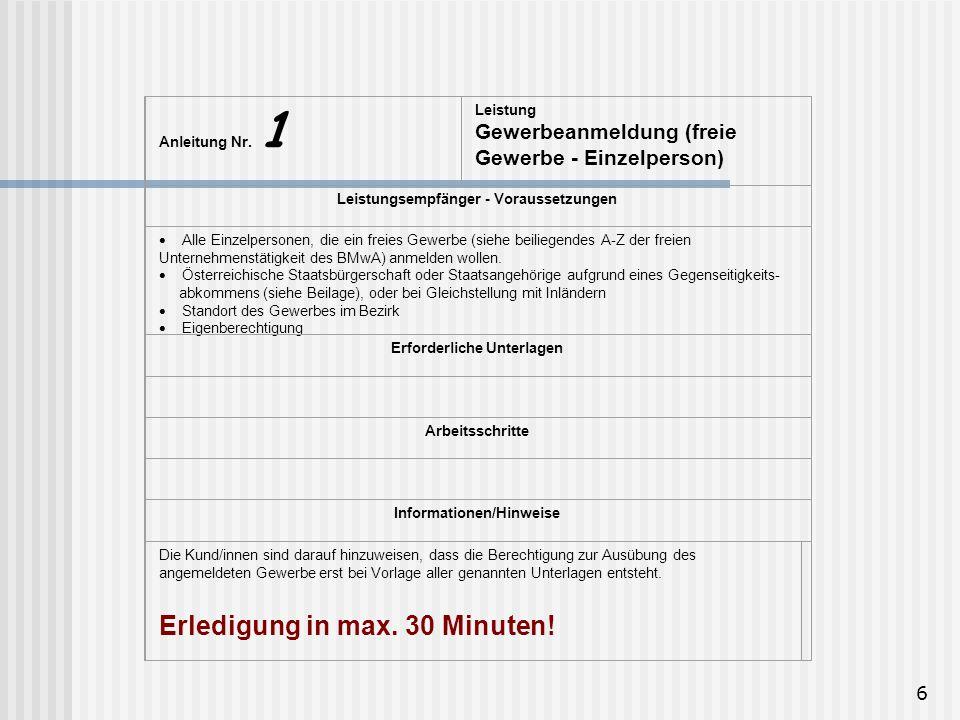 6 Anleitung Nr.