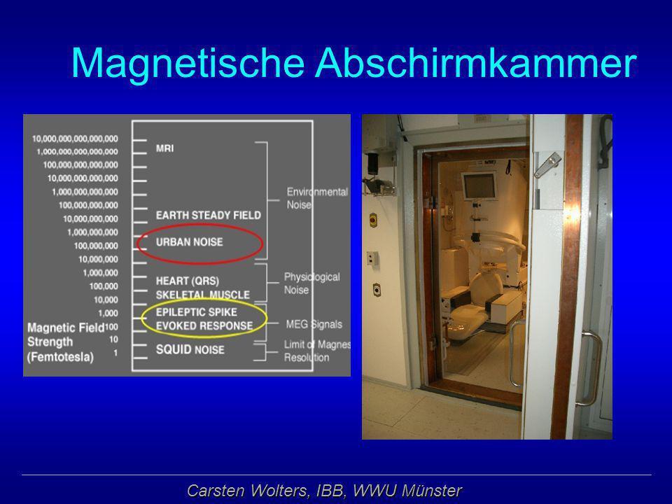 Carsten Wolters, IBB, WWU Münster Magnetische Abschirmkammer