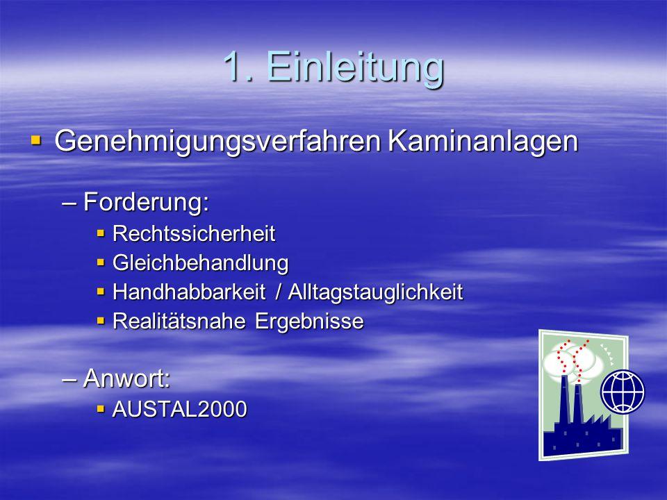 2.Umweltvorschriften Technische Anleitung zur Reinhaltung der Luft TA Luft Vom 24.