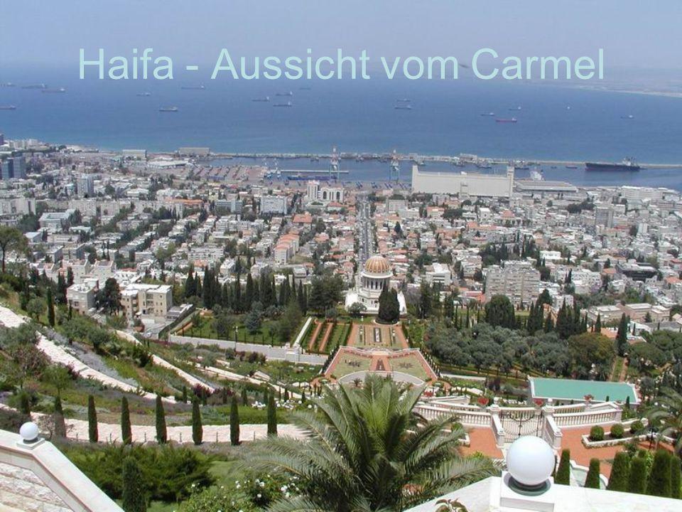 Haifa - Aussicht vom Carmel