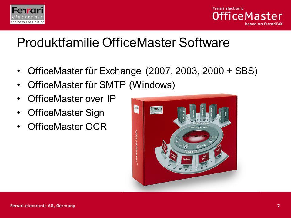 8 OfficeMaster SharePoint-Integration