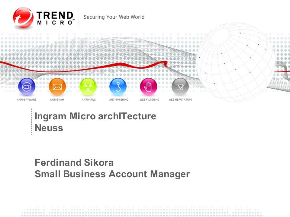 Ingram Micro archITecture Neuss Ferdinand Sikora Small Business Account Manager